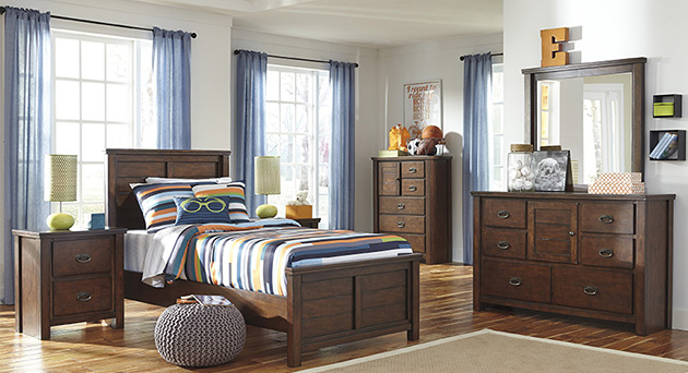Ladiville Twin Panel Bedroom Set